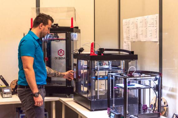 CDA 3D Druck Vorbereitung der Kleinserie